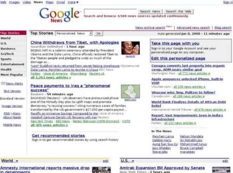 Google News Spoofs