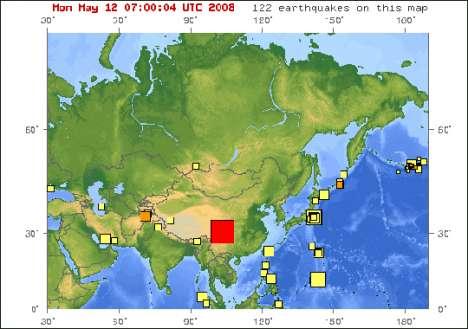 Earthquake Detection via Satellite