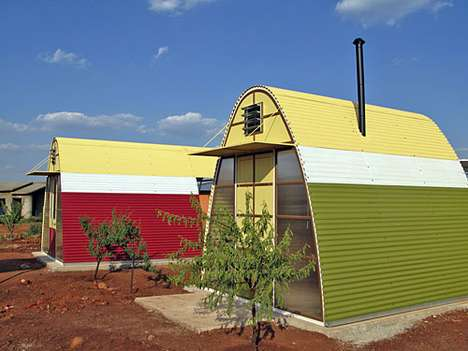 African Prefab Houses - The Abod