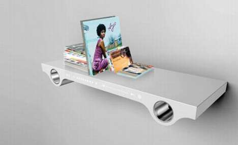 Musical Bookshelves - The Wazz AL by NoDesign