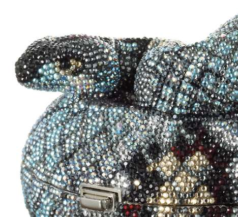 Crystal Figurine Purses - Leiber's Luxury Evening Bags