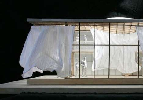 Curtains as Solar Energy Collectors