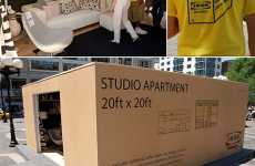 Pop-Up Roomvertising - Ikea Sets Up Fake Rooms Throughout NYC
