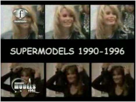 Supermodels of the 1990's