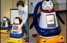 Smelly Emotional Robots - Pomi Emits Smells & Makes Faces
