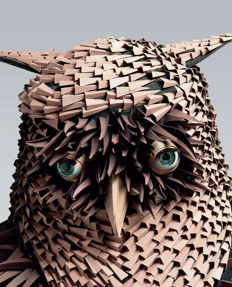 This Incredible Art by Irving Harper is All Made from Paper