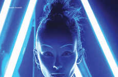 Illuminated Sci-Fi Editorials - The Awakening DEW Fashion Story is Futuristically Fierce