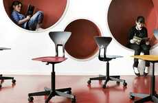 Ergonomic Student Seating - The 'Ray' School Chair Design is Meant to Improve Posture in Class