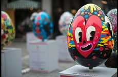 Artistic Egg Hunts - Lindt Sponsors the UK's Biggest Easter Egg Hunt