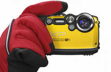 Wi-Fi-Enabled Photography - The Fujifilm FinePix XP200 Camera Can Instantly Share Pictures Online