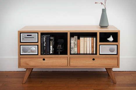 Sound System-Centric Furniture