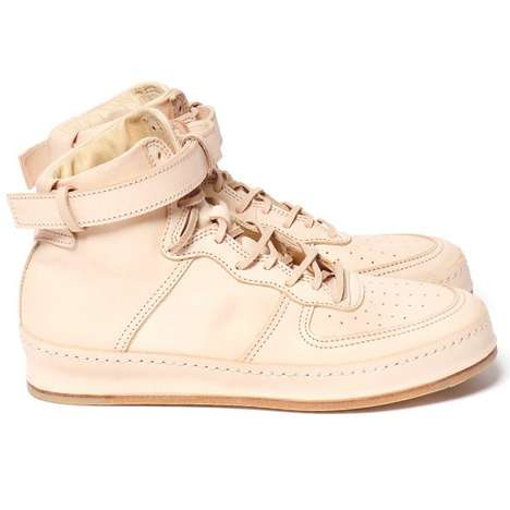 Designer Athletic Kicks - High Fashion Reinterprets Sports Function with the Hender Scheme Sneaker