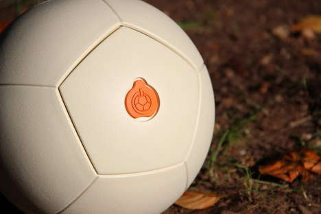 Power-Generating Soccer Balls