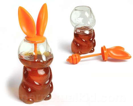 Bunny-Eared Honey Holders