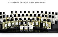 Aromatic Perfume Calendars - Kim Weisswange's Scent of Time Collection is a Perfume Agenda