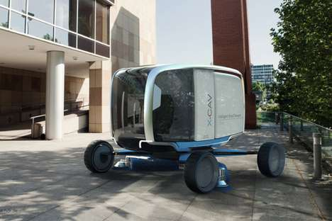 Expanding City Cleaners - The X-Cave Street Sweeper Adjusts to Cover a Wide Range of Urban Roads