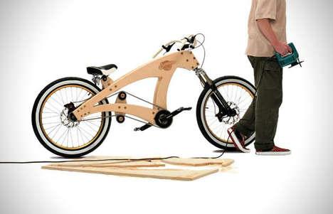 Wooden DIY Bicycles