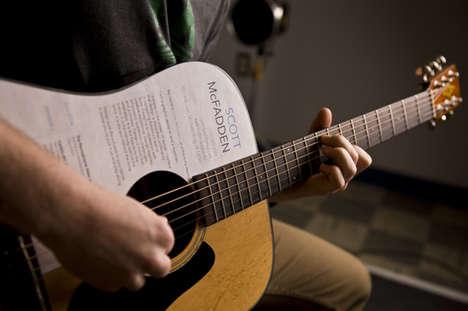 Resume-Toting Guitars