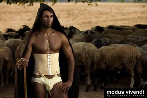 Sensual Sheepherding Skivvies