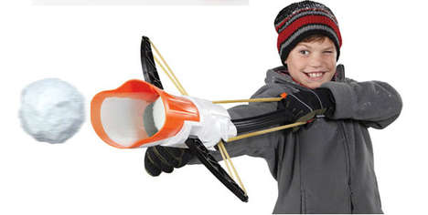Snowball-Launching Crossbows - This Snowball Launcher is Like Bringing a Gun to a Snowball Fight