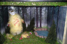 Taxidermy Critter Displays - KristinsCreations111 Re-cCeates Scenarios with Deceased Animals