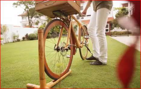All-Bamboo Bikes - Bamboobee Bikes Provide a Natural Way to Ride