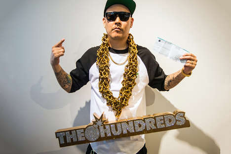 Ignorantly Humongous Bling - The Hundreds x Ben Baller Gold Chain is Worth $3,115,000 USD