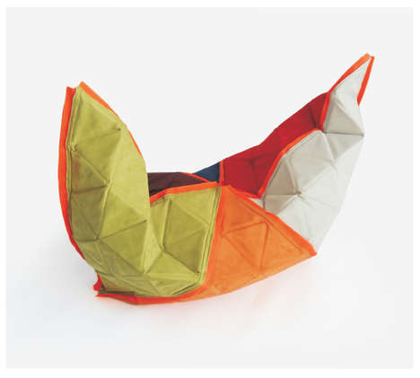 Furlable Fabric Toy Boxes - Polimata Provides a Soft Surface for Play and a Place to Stash Trinkets