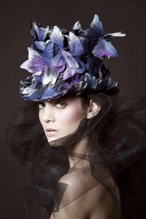 Theatrically Charged Headpieces