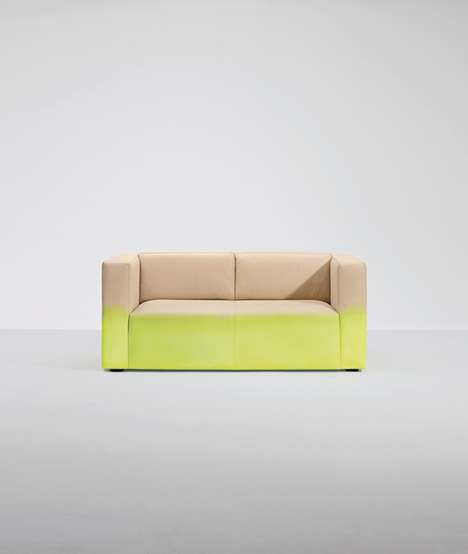 Vibrant Ombre Couches