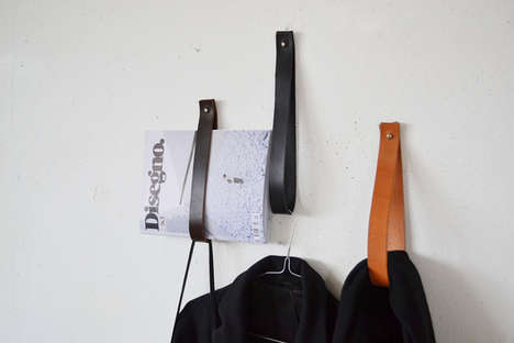 Handsome Handle Clothes Hooks