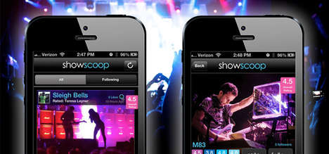 ShowScoop Brings Crowdsourced Concert Reviews to Your Mobile