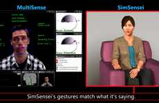 Computer Program Therapy - The SimSensei Microsoft Kinect Sensor Program Monitors Feelings