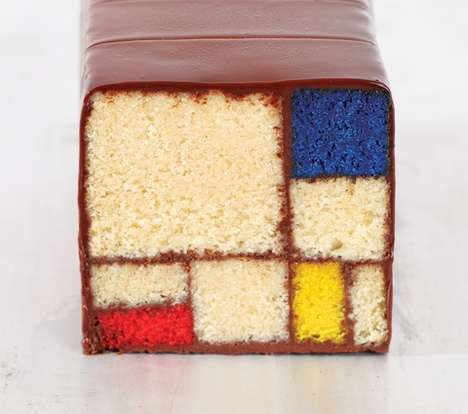 Colorblocked Confectionery Cookbooks