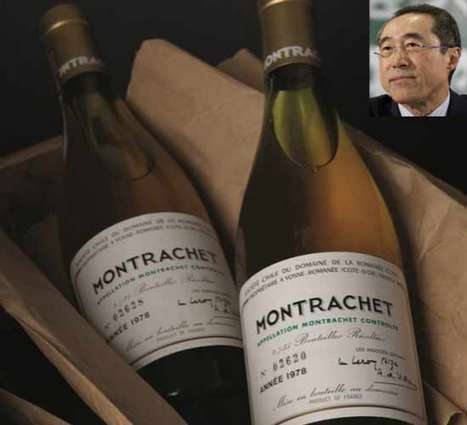 Henry Tang's Burgundy Alcohol Gems Sold in Auction to Christie