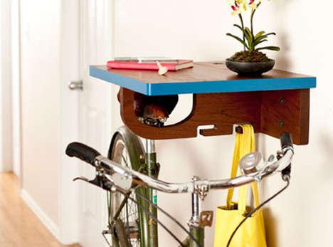Seat-Held Cyclist Racks