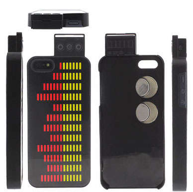 Sound Equalizing Smartphone Cases - This LED iPhone Equalizer Case Melds Music and Protection