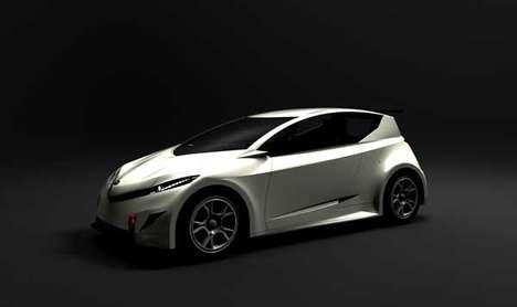 Futuristic Eco-Hatchback Concepts
