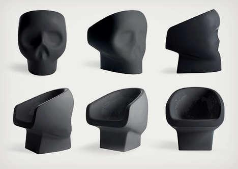 Skull-Shaped Seating