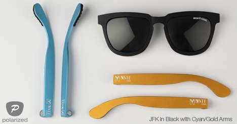Magnetized Aluminum Sunglasses