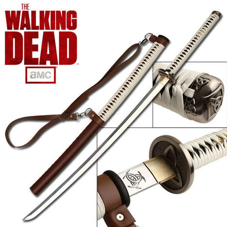 Zombie Fighting Samurai Swords
