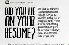 Fibbed Resume Infographics - This Guide Shows the Devastating Possibilities of Lying on a Resume