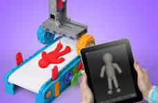 Playful 3D Printers - ThinkGeek's Play-Doh 3D Clay Printer is the Ultimate Children's Toy
