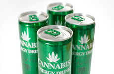 Cannabis-Infused Beverages  - This Cannabis Energy Drink Will Get You Pumped and Energized