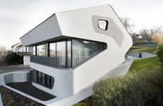 Dinsaur-Modeled Homes - The Jurgen Mayer H OLS House is Shaped Like Ancient Creatures