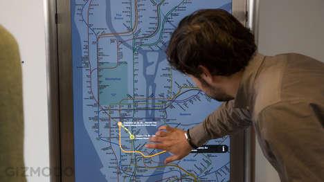 Interactive Subway Screens