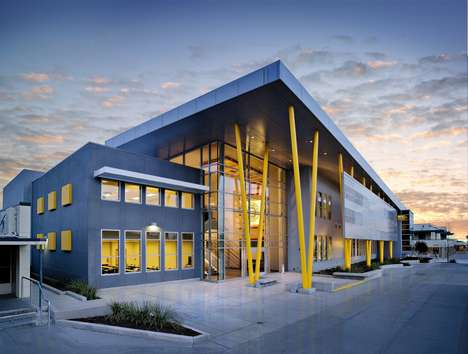 21st Century Eco Schools - The Edison High School Academic Building by Darden Architects is Modern