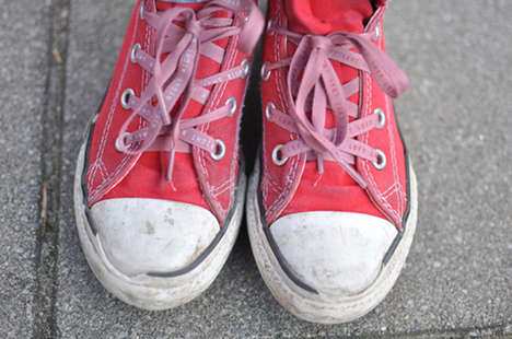 Instructional Shoe Ties