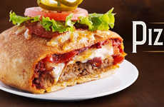 Overindulgent Pizza Burgers - Boston's Pizzaburger is a Meaty Concoction to Clog Arteries