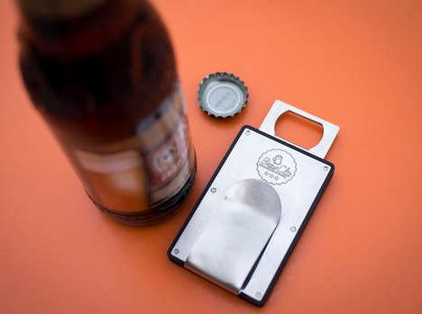 Macho Booze-Opening Wallets